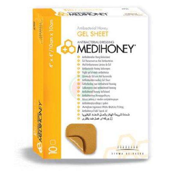 Medihoney gel sheet obloga 10 x 10 cm, 10 oblog