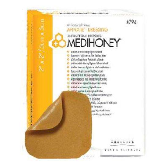 Medihoney apinate dressing obloga 5 x 5 cm, 10 oblog