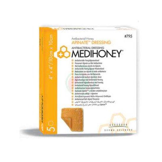 Medihoney apinate dressing obloga 10 x 10 cm, 5 oblog