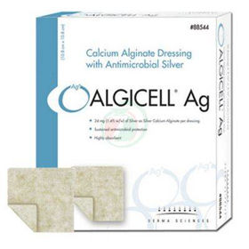 Slika Algicell AG alginat s srebrom obloga 10 x 20 cm, 5 oblog
