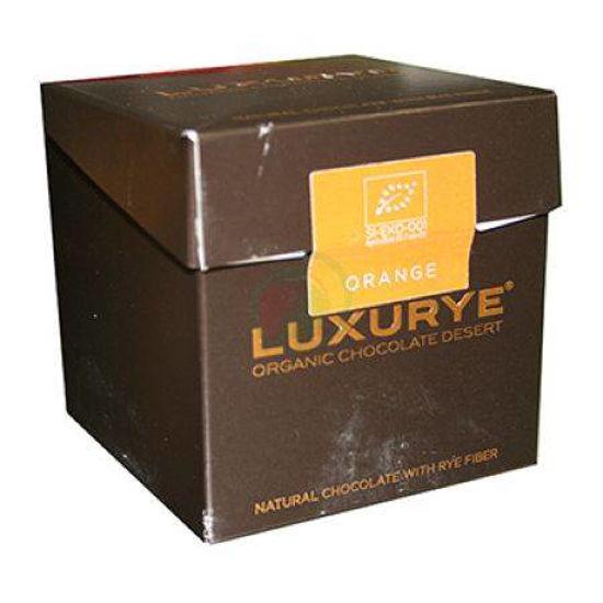 Luxurye čokoladni desert z okusom pomaranče, 200 g