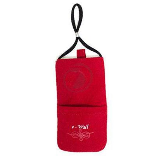 Wave Protect Classic rdeča zaščitna torbica proti sevanju
