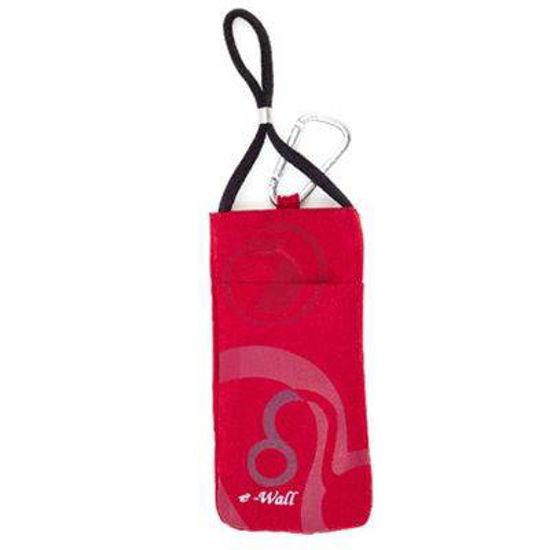 Wave Protect Young rdeča zaščitna torbica proti sevanju