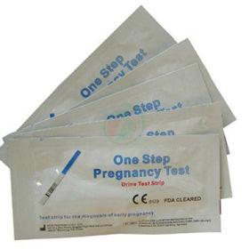 Slika One Step HCG Urine Pregnancy Test nosečniški test 10 miU/ml, 10 kom
