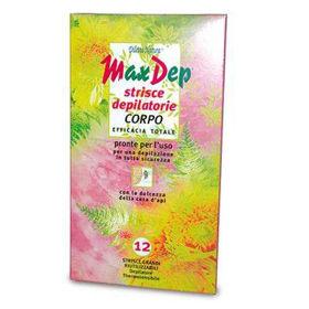 Slika Max Dep depilacijski trakovi za telo, 12 trakov