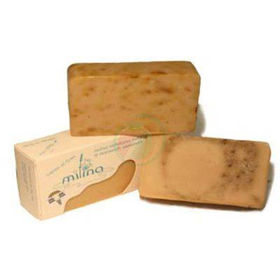 Slika Milina naravno milo iz kozjega mleka s smreko, 100 g