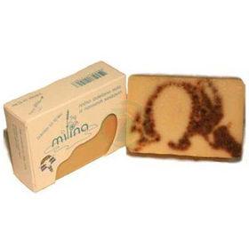 Slika Milina naravno milo iz kozjega mleka z brinjem, 100 g