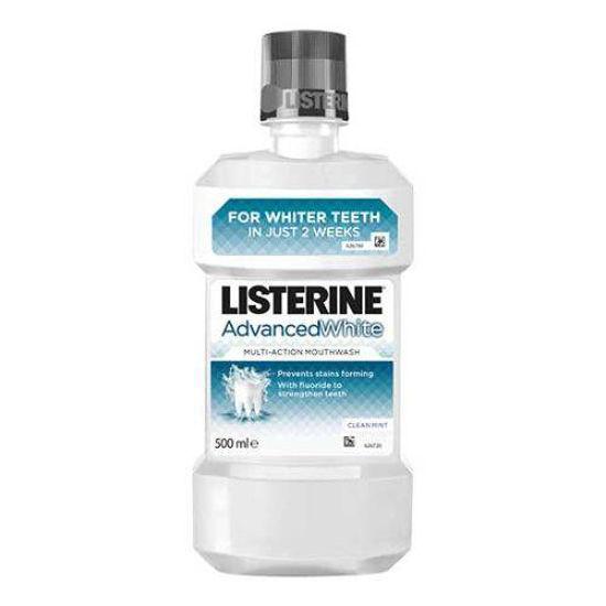 Listerine Advanced White ustna voda, 500 mL