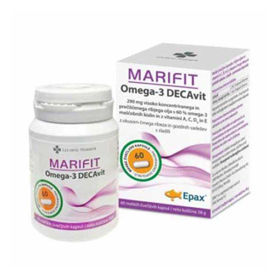 Slika Marifit Omega-3 DECAvit, 60 kapsul