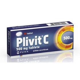 Slika Plivit C 500 mg, 20 tablet