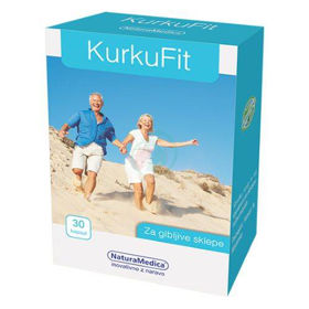 Slika KurkuFit (curcuphyt) za gibljive sklepe, 30 kapsul