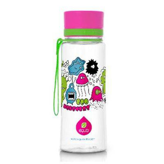 Equa ekološka steklenica z odtenkom/motivom Elephant, 0.6 L