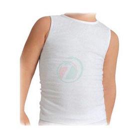 Slika Bombažna otroška majica brez rokavov