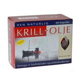 Slika Biopharma krill olje, 60 kapsul