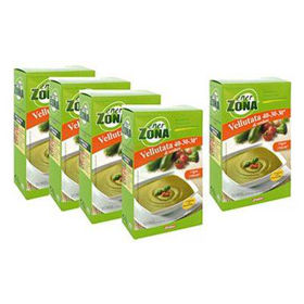 Slika Enerzona akcijska ponudba zelenjavna juha 4 + 1 gratis, 5 x 48 g