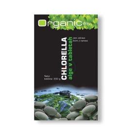 Slika Organic day Chlorella v tabletah, 200 g