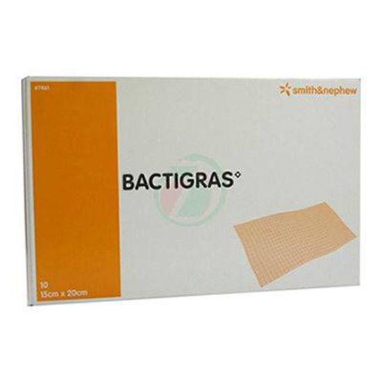 Bactigras antiseptična obloga velikosti 15x20 cm, 10 oblog