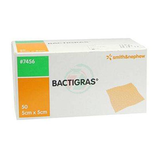 Bactigras antiseptična obloga velikosti 5x5 cm, 50 oblog