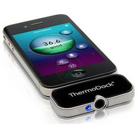 Slika ThermoDock infrardeči termometer za pametni telefon