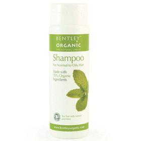 Slika Bentley Organics naravni šampon za normalne in mastne lase, 250 mL