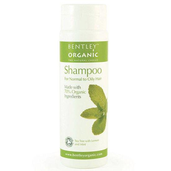 Bentley Organics naravni šampon za normalne in mastne lase, 250 mL