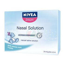 Slika Nivea Baby raztopina za čiščenje noska, 24 ampul