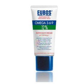 Slika Eubos 12% Omega 3-6-9 intenzivna pomirjujoča krema za obraz, 50 mL