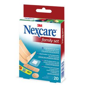 Slika Nexcare Family družinski set obližev, 20 obližev