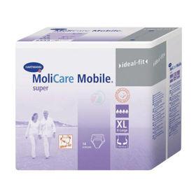 Slika MoliCare Mobile Super nočne hlačne plenice, 14 plenic