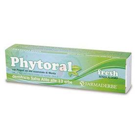Slika Farmaderbe Phytoral Fresh zobna pasta s 13 zelišči za svež dah, 75 mL