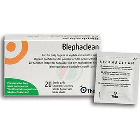 Blephaclean sterilne krpice za čiščenje vek, 20 krpic