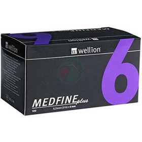 Slika Wellion Medfine plus 31G igla za inzulinska peresa 6 mm, 100 igel