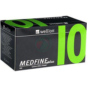 Slika Wellion Medfine plus 29G igla za inzulinska peresa 10 mm, 100 igel
