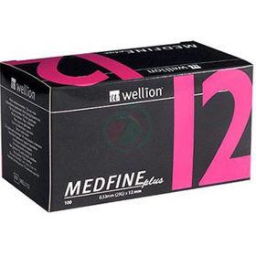 Slika Wellion Medfine plus 29G, igla za inzulinska peresa 12 mm, 100 igel