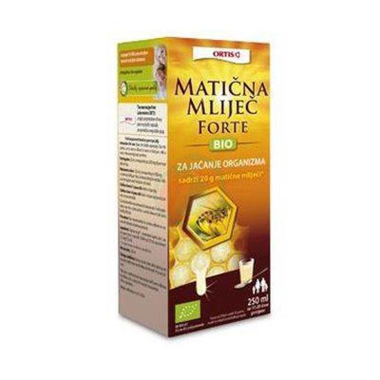 Ortis Forte bio matični mleček, 250 mL
