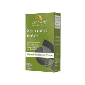 Slika Biocyte Keratin Men za goste lase, 40 kapsul