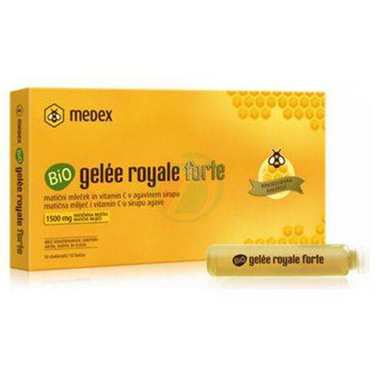 Bio Gelee royale forte matični mleček, 10 x 9 mL + 2x9 mL GRATIS