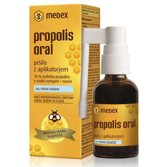 Propolis Oral pršilo na vodni osnovi, 30 mL