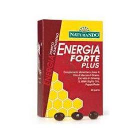 Slika Naturando energia forte plus prehransko dopolnilo, 40 kapsul