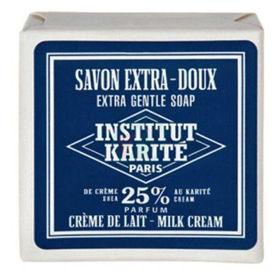 Slika Institut du Karite trdo milo za telo s smetano, 100 g