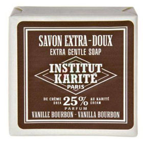 Slika Institut du Karite trdo milo za telo z vanilijo burbon, 100 g
