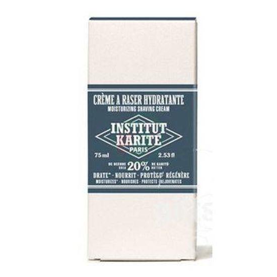 Institut du Karite vlažilna krema za britje za moške, 75 mL