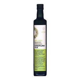 Slika Ekolife konopljino olje, 250 mL