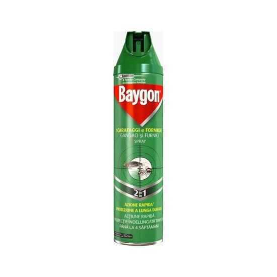 Baygon S&F sprej proti gomazečim insektom, 400 mL