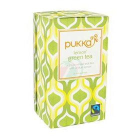 Slika Pukka lemon green tea organski zeleni čaj z limono, 20 vrečk