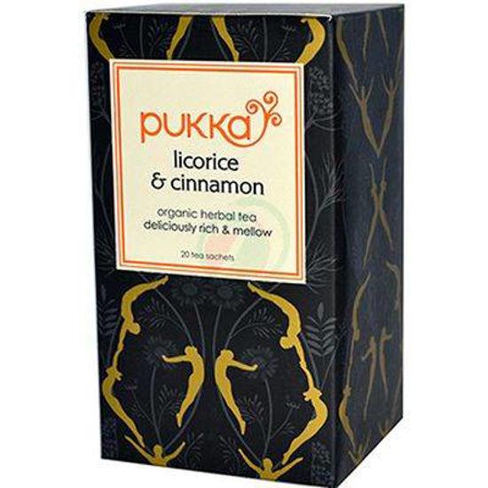 Pukka licorice & cinnamon organski čaj s cimetom, 20 vrečk