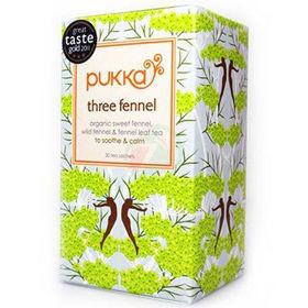 Slika Pukka three fennel organski čaj s komarčkom, 20 vrečk