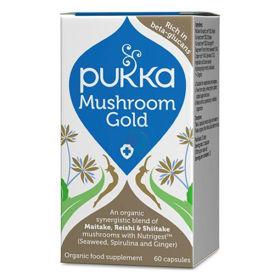 Slika Pukka Mushroom Gold formula, 60 kapsul