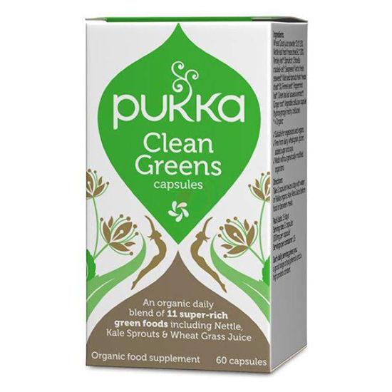 Pukka clean greens, 60 kapsul