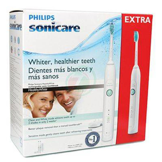 Sonicare HealthyWhite električna zobna ščetka, (2 ščetki za ceno 1)